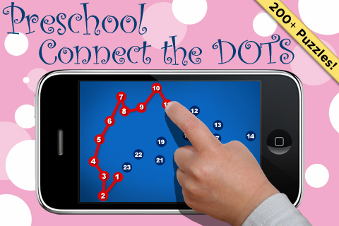 Screenshot Preschool Connect the Dots Game to Learn Numbers and the Alphabet with 200+ Puzzles